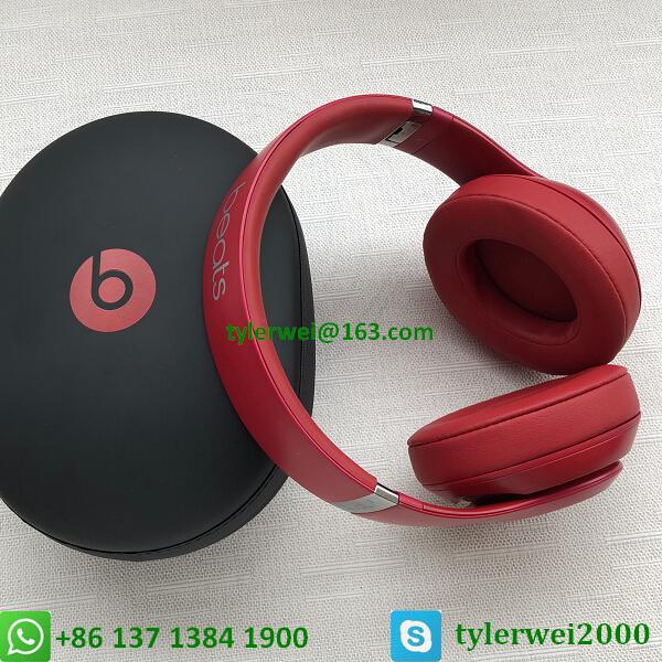 Beats by Dr. Dre Studio3  Wireless Headphones Noise Canceling - Red studio 3 9