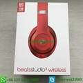 Beats by Dr. Dre Studio3  Wireless Headphones Noise Canceling - Red studio 3 11