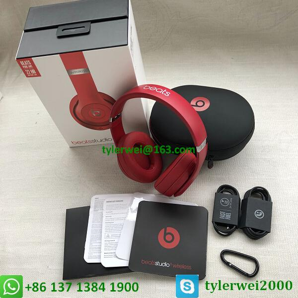 Beats by Dr. Dre Studio3  Wireless Headphones Noise Canceling - Red studio 3 18