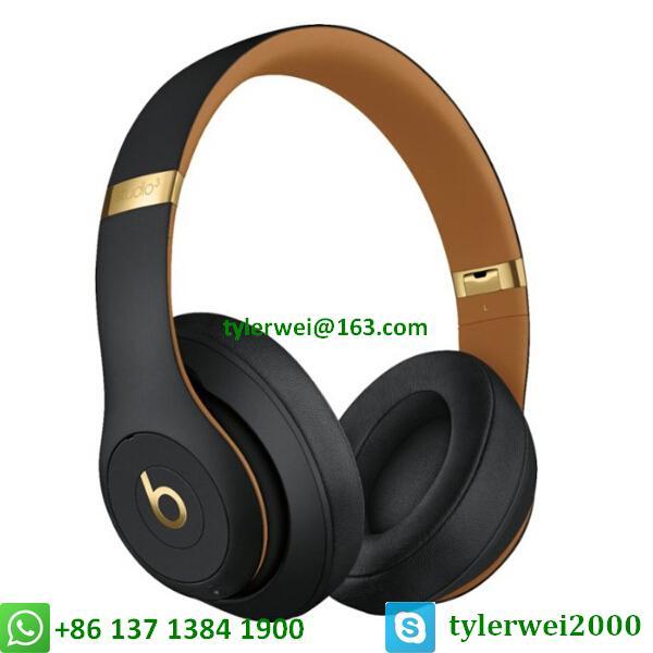 Beats Studio3 Wireless Over-Ear Headphones Noise Canceling Midnight Black 1
