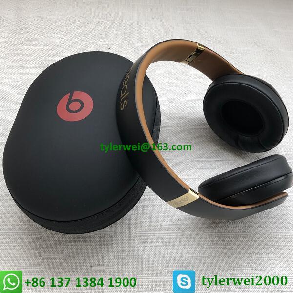 Beats Studio3 Wireless Over-Ear Headphones Noise Canceling Midnight Black 12
