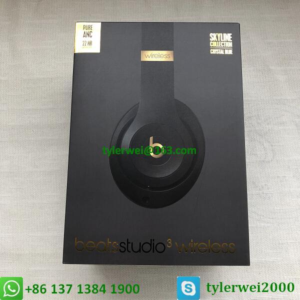 Beats Studio3 Wireless Over-Ear Headphones Noise Canceling Midnight Black 14
