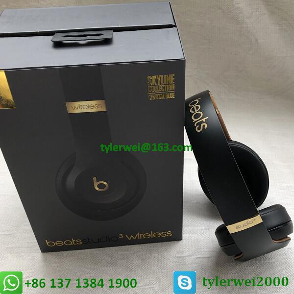 Beats Studio3 Wireless Over-Ear Headphones Noise Canceling Midnight Black 13