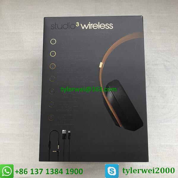 Beats Studio3 Wireless Over-Ear Headphones Noise Canceling Midnight Black 16