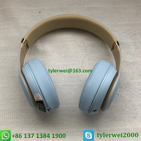 Beats Studio3 Wireless Over-Ear Headphones Noise Canceling Crystal blue studio 3 9