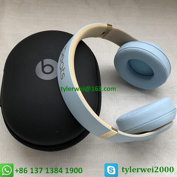 Beats Studio3 Wireless Over-Ear Headphones Noise Canceling Crystal blue studio 3 10
