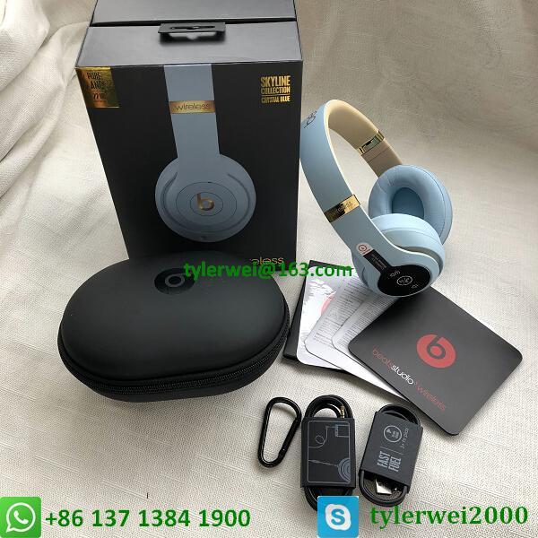 Beats Studio3 Wireless Over-Ear Headphones Noise Canceling Crystal blue studio 3 19