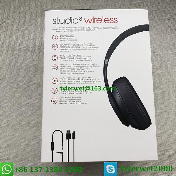 dre beats studio3