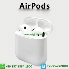 Apple Airpods wireless with W1 chip in-ear earphone