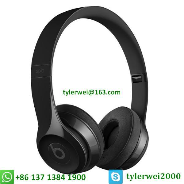 Beats Solo3 Wireless Headphones beats wireless headphone - gloss black solo 3 1