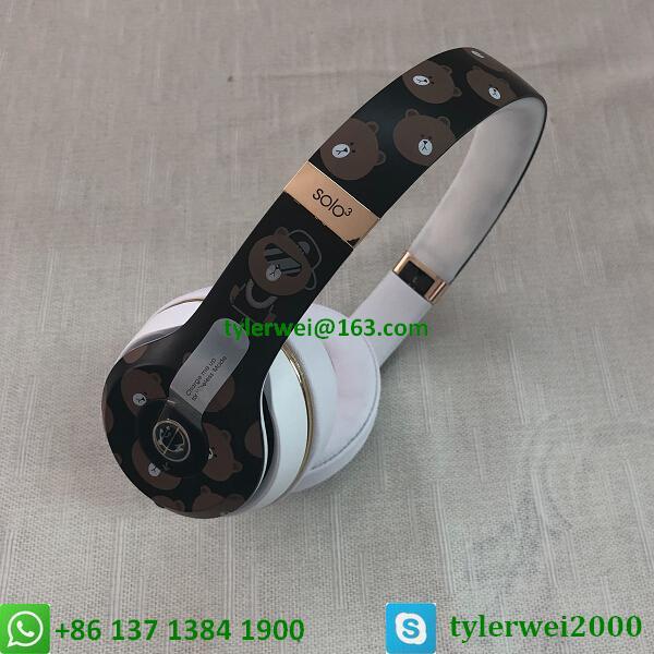 Beats Solo3 Wireless Headphones Special Edition Line Friends solo 3 wireless 5