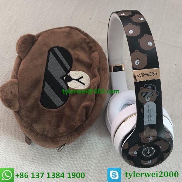 Beats Solo3 Wireless Headphones Special Edition Line Friends solo 3 wireless 12