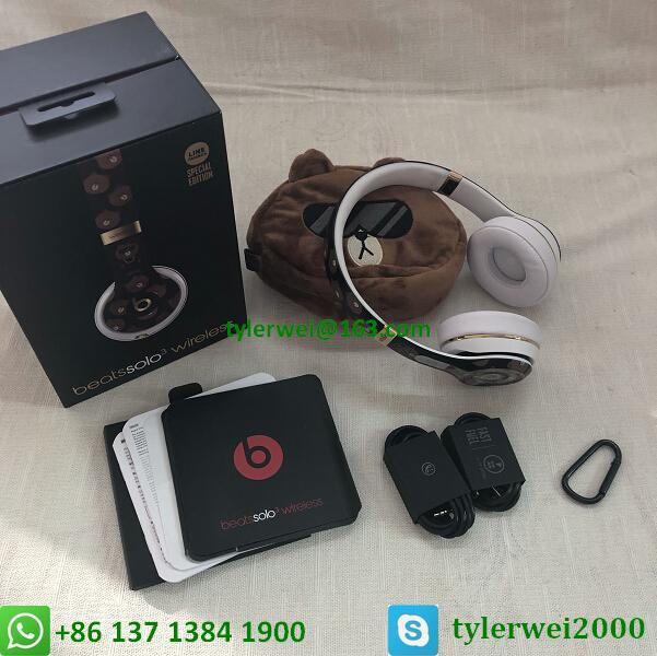 Beats Solo3 Wireless Headphones Special Edition Line Friends solo 3 wireless 19