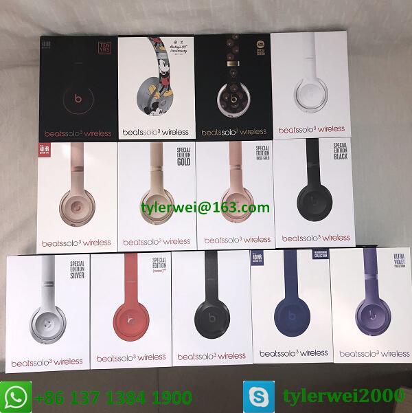 Beats Solo3 Wireless Headphones Special Edition Line Friends solo 3 wireless 20
