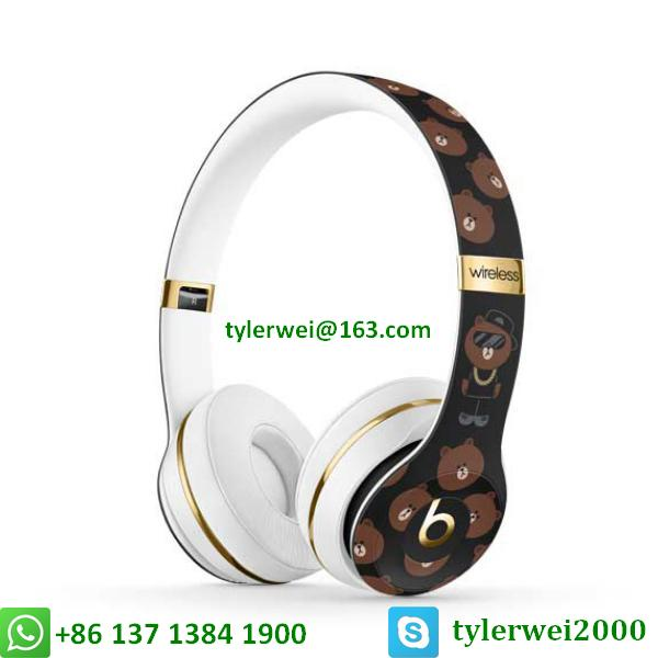 Beats Solo3 Wireless Headphones Special Edition Line Friends solo 3 wireless 2