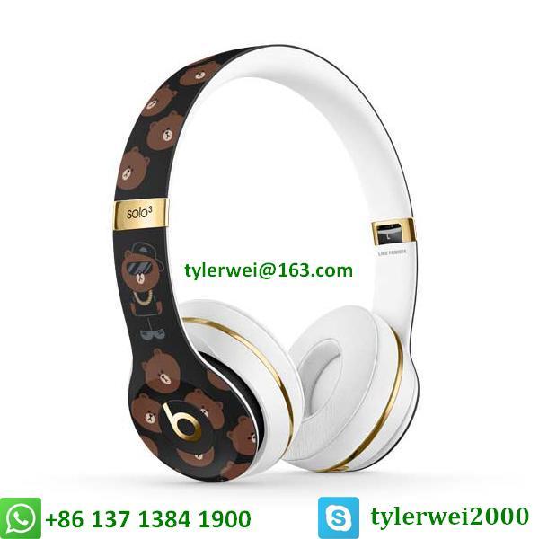 Beats Solo3 Wireless Headphones Special Edition Line Friends solo 3 wireless 1