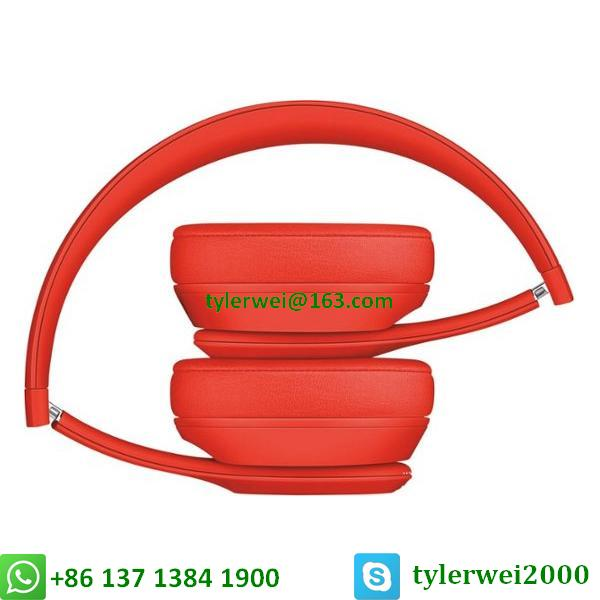 Beats Solo3 Wireless headphone red beats by dr dre  solo 3 4