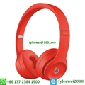 Beats Solo3 Wireless headphone red beats by dr dre  solo 3 2
