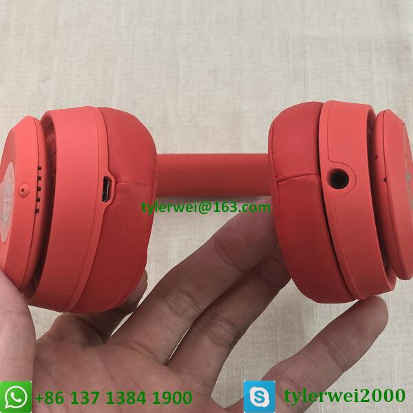 Beats Solo3 Wireless headphone red beats by dr dre  solo 3 9