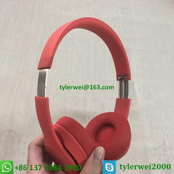 Beats Solo3 Wireless headphone red beats by dr dre  solo 3 8