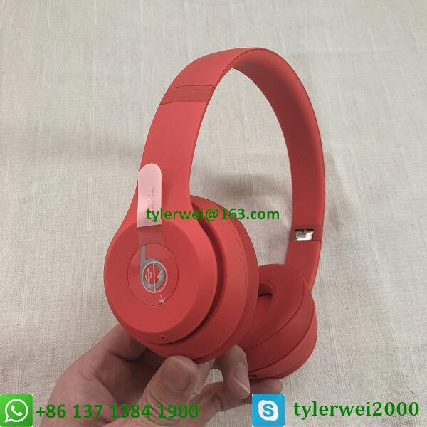Beats Solo3 Wireless headphone red beats by dr dre  solo 3 6