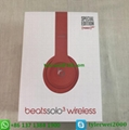 Beats Solo3 Wireless headphone red beats by dr dre  solo 3 13