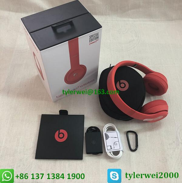 Beats Solo3 Wireless headphone red beats by dr dre  solo 3 19