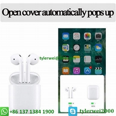 Airpods wireless with W1 chip in-ear earphone apple airpods