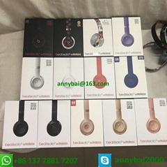 Hot sellings beats wireless solo3 headphones bluetooth beats by dr.dre