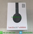 Hot sellings beats wireless solo3 headphones bluetooth beats by dr.dre  18