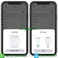 Apple AirPods with Charging Case Airpods wireless with W1 chip in-ear earphone 3
