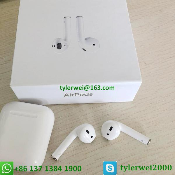 Apple AirPods with Charging Case Airpods wireless with W1 chip in-ear earphone 12