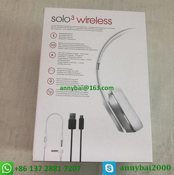 Beats solo3 wireless by dr.dre bluetooth wireless beats with high quality  17