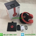 New arrial beats headphones bluetooth wireless solo3 with high quality