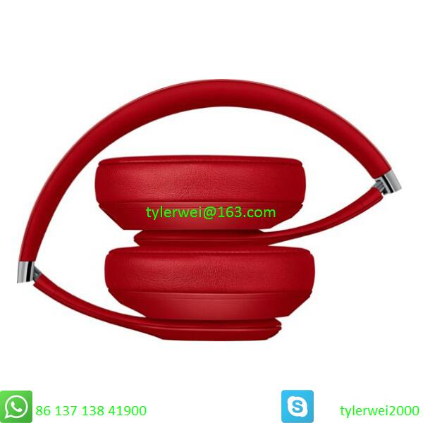 Beats by Dr. Dre Studio3  Wireless Headphones Noise Canceling - Red studio 3 4