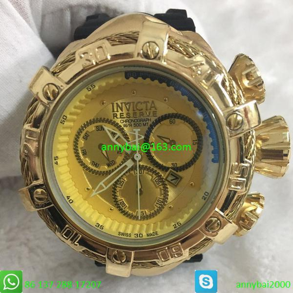 New coming hot selling good quality Invicta watch from factory quartz watch  15