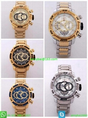 Invicta watch for man hot selling in Euros quartz watch