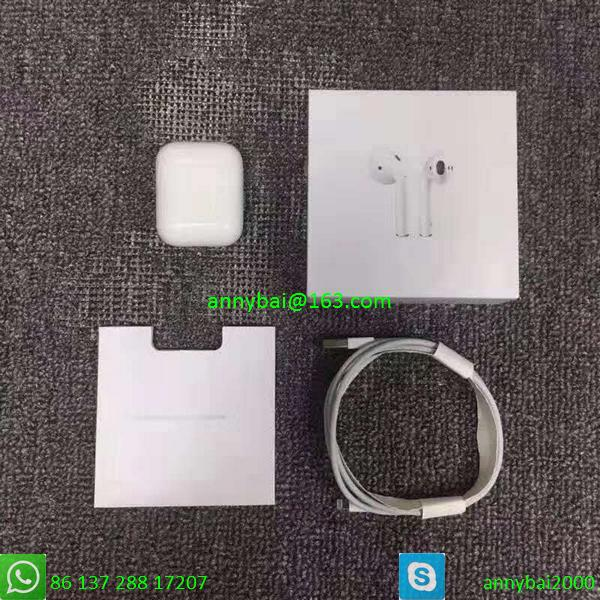 Cheap airpods2 with normal quality for wholesale with wireless charging case  2