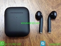 Wholesale apple wireless earbuds cheap version black airpods2