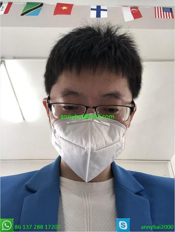 KN95 masks 100% qualified technology from CE factory by government authorized  5
