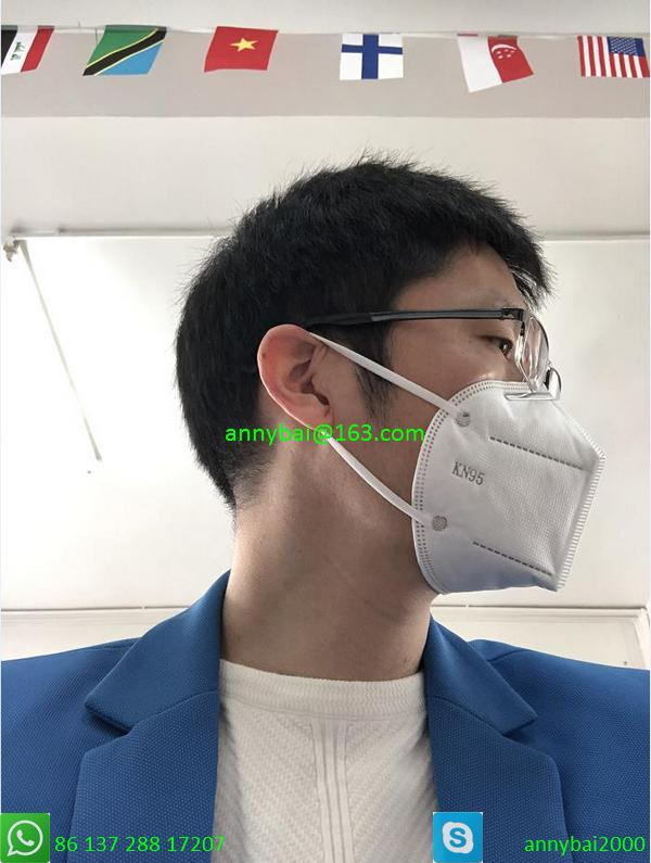 KN95 masks 100% qualified technology from CE factory by government authorized  3