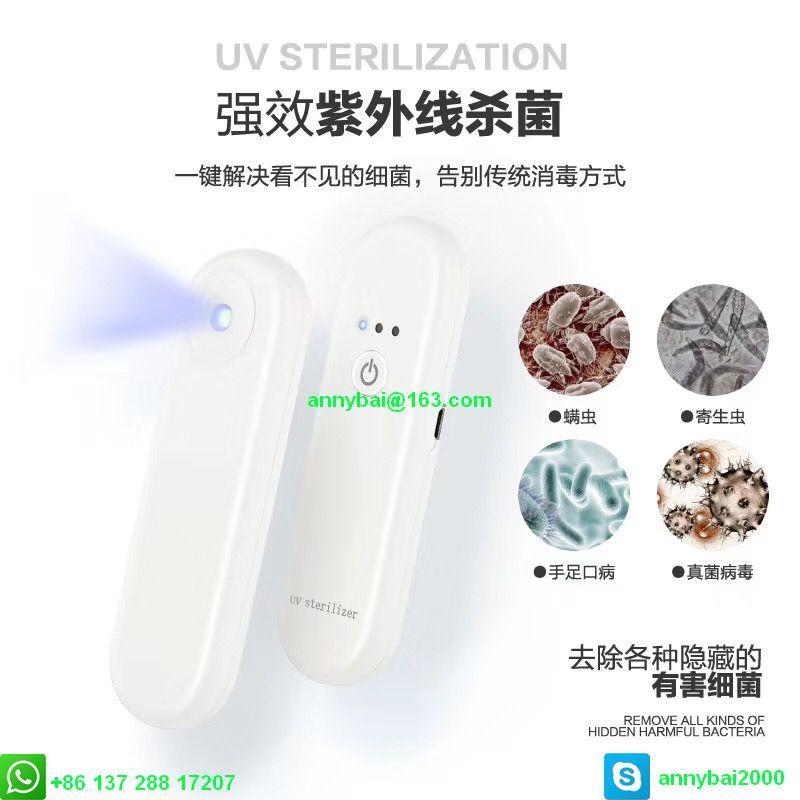 Portable UV sterilizer against Coronavirus with CE  3
