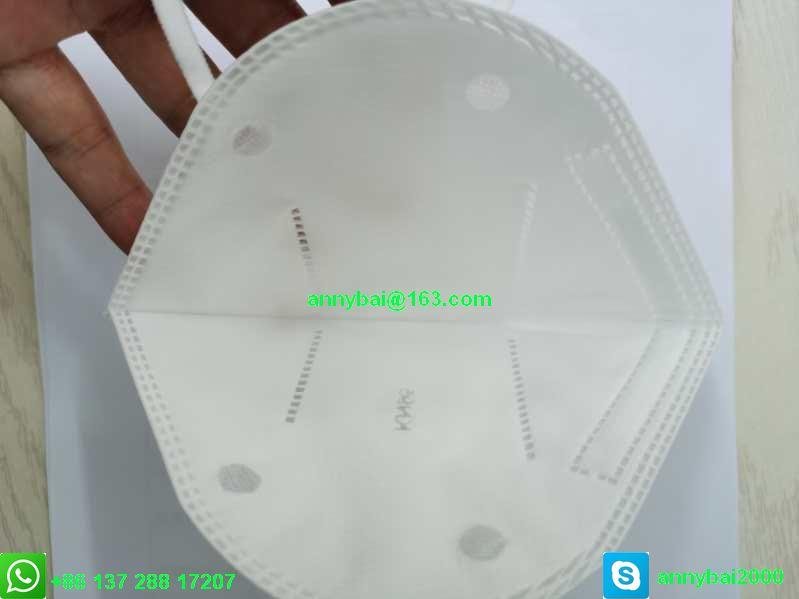 Disposable Sanitary Mask KN95 Facemask with CE FDA 100% qualified technology 17