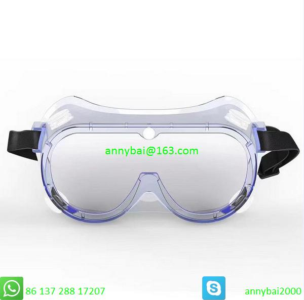 PROTECTIVE GOGGLE against Coronavirus with CE FDA SGS made of food PVC  3