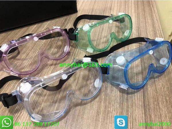 PROTECTIVE GOGGLE against Coronavirus with CE FDA SGS made of food PVC  1