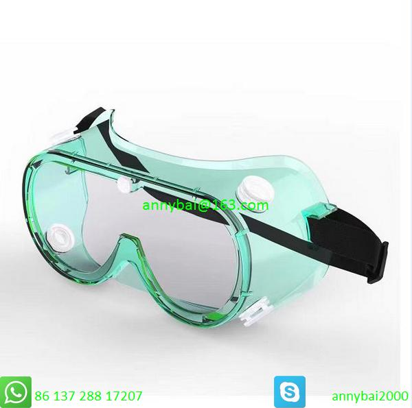 PROTECTIVE GOGGLE against Coronavirus with CE FDA SGS made of food PVC  5