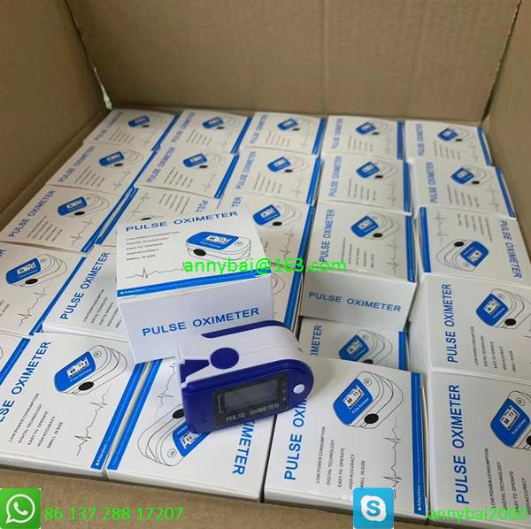 2020 hot sellings fingertip pulse oximeter from factory all styles