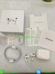 2020 Top best quality airpods pro earbud with wireless charging case