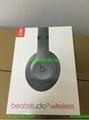 High quality beatsing studio3ing by dr.dre bluetooth headphones