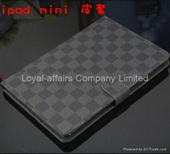 leather case for ipad mini slim magnetic with wake up and sleep function